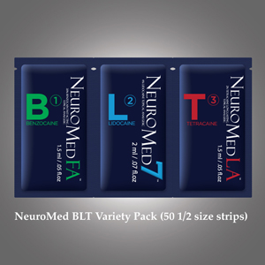 Neuromed BLT 5 Strip Sample pack - SMALL